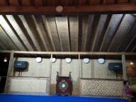Rumah khas Oseng, rumah tanpa paku, bisa dipindah pindah